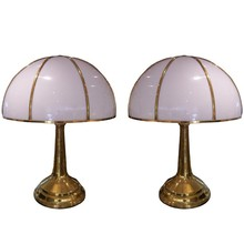 Pair of oversize table lamp