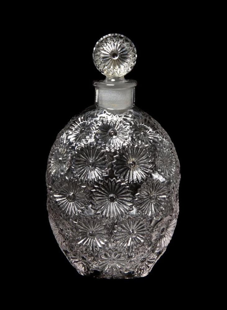 Rene Lalique Worth Rose Perfume bottle
