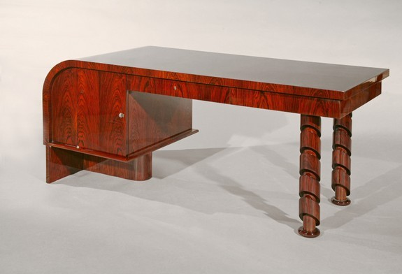 Rosewood of Rio desk with armchair