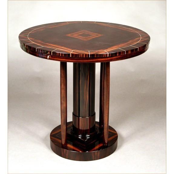 Makassar Ebony Side Table