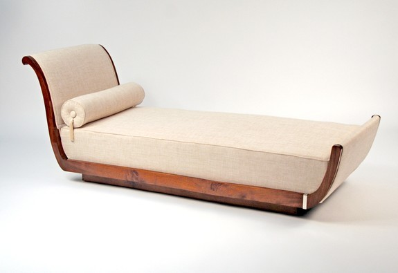 Daybed : art deco chaise - Sectionals, Sofas & Couches