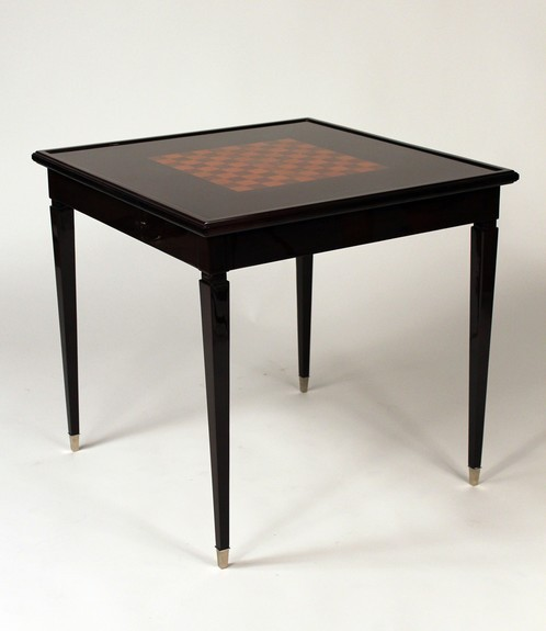Game table and bridge chairs | Furniture | Valerio Art Deco