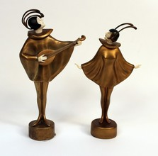 Bronze and Ivory Sculpture