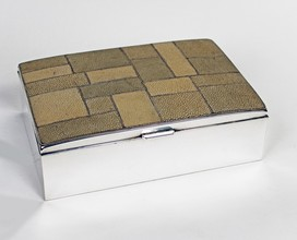 Large Shagreen box