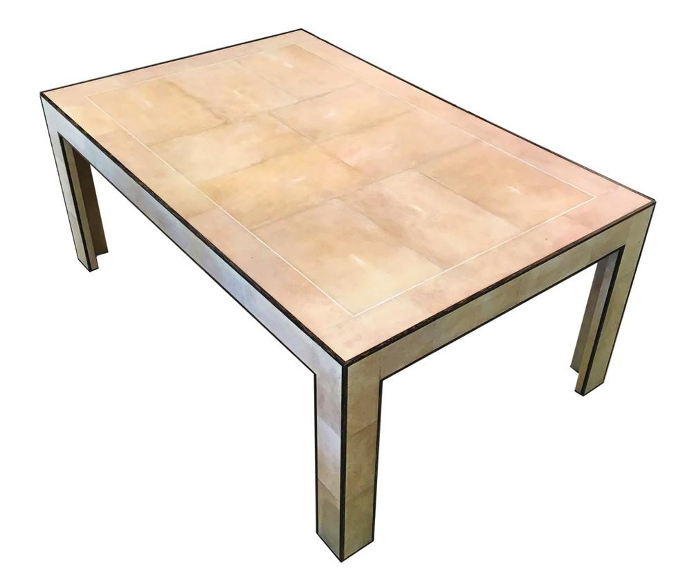 Shagreen Coffee Table By Frank, Jean-Michel