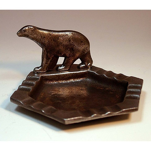 Bear ashtray