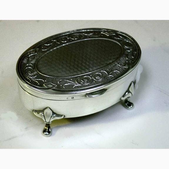 Silver Pills Box
