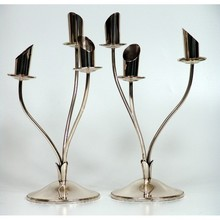 Silver Candel Holders