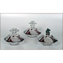 Three botles perfume set