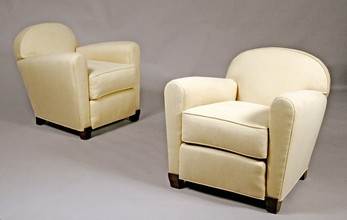 Pair of Club Chairs