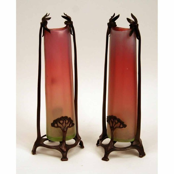Pair of armature vases