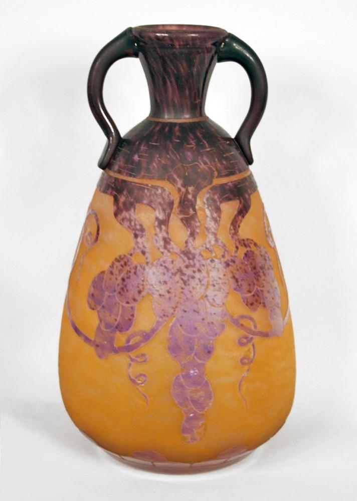 Mauve Raisins vase