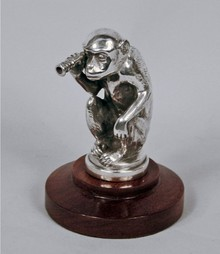 Monkey Car Mascot