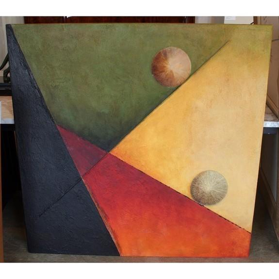 Mixed tecnique on canvas