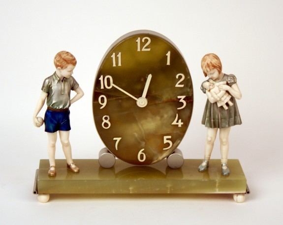 Children Mantle Clock