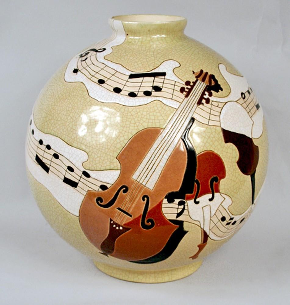 Musical Scene Ceramic