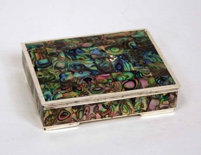 Silver and Mother of Pearl Box
