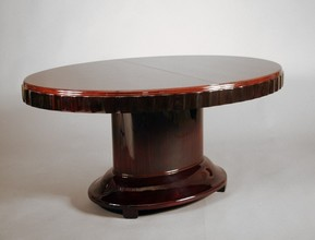 Rosewood Oval Dining / Center Table