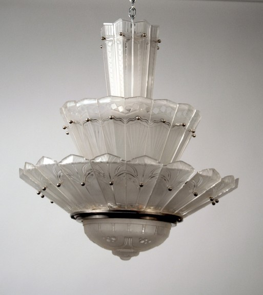 French  Italian 20th century Lighting - Daum, Baccarat, Venini
