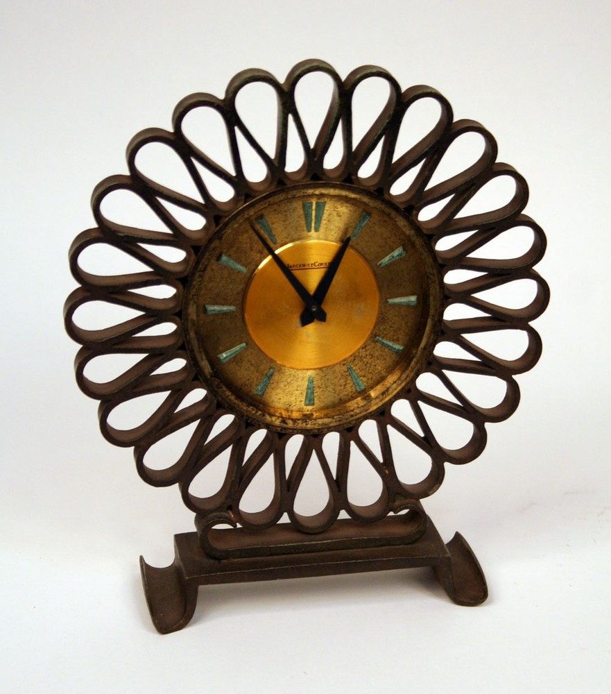 Wrought-Iron Clock