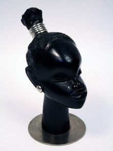 Ebonized African Sculpture