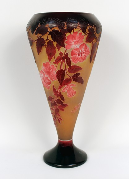 Tall Floral Vase