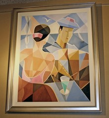 Cubist Painting