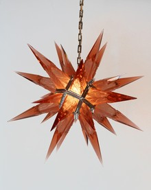 Red Star Chandelier and Sconces