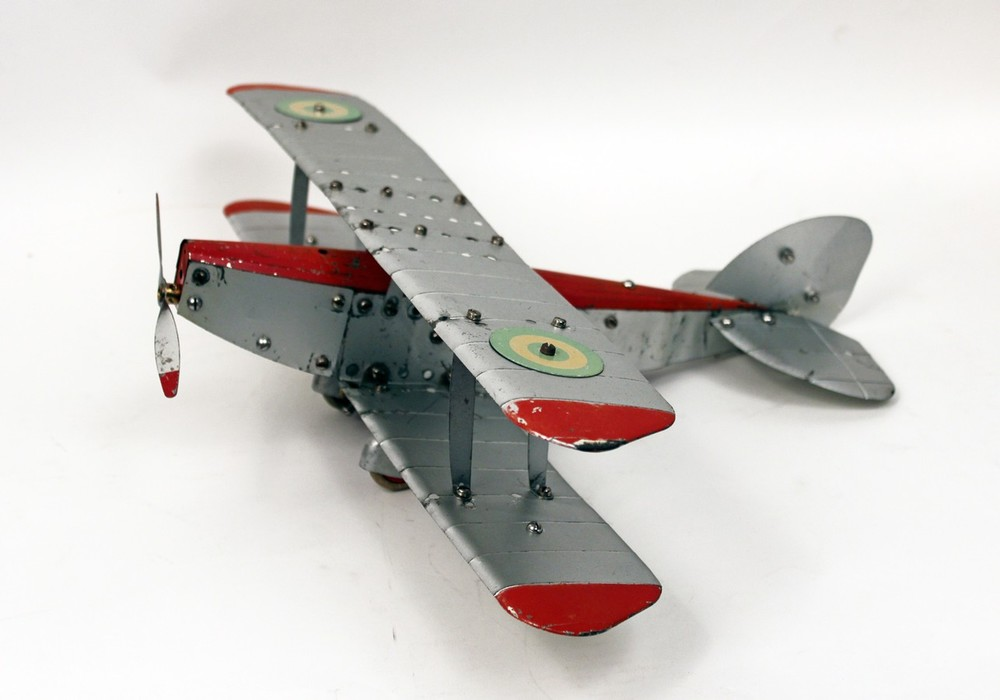 Meccano Toy Airplane