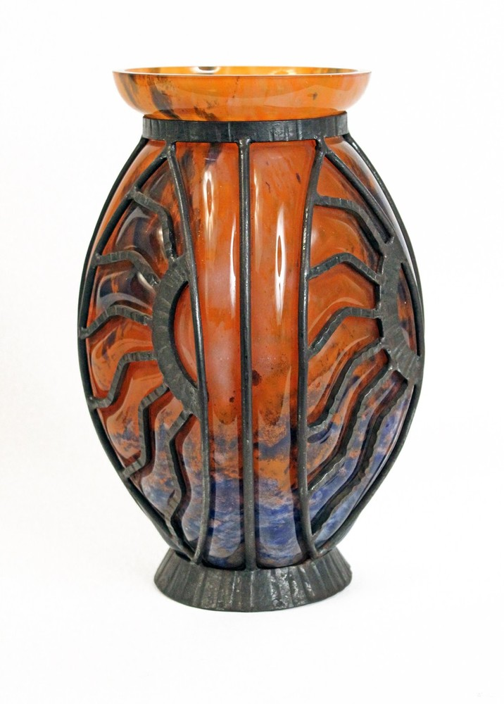 Reticulated vase
