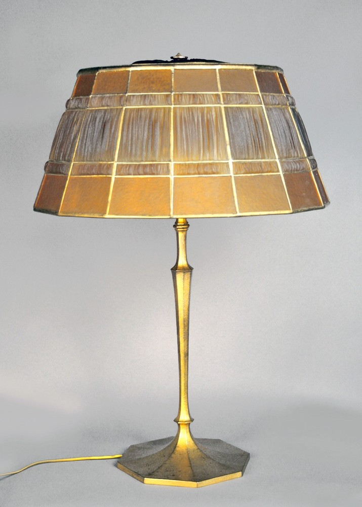 Tiffany Linenfold lamp