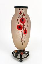 Schneider Coquelicot vase