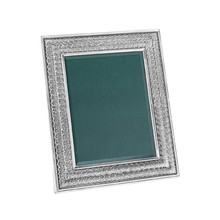Double Linenfold 8X10 Sterling Picture Frame