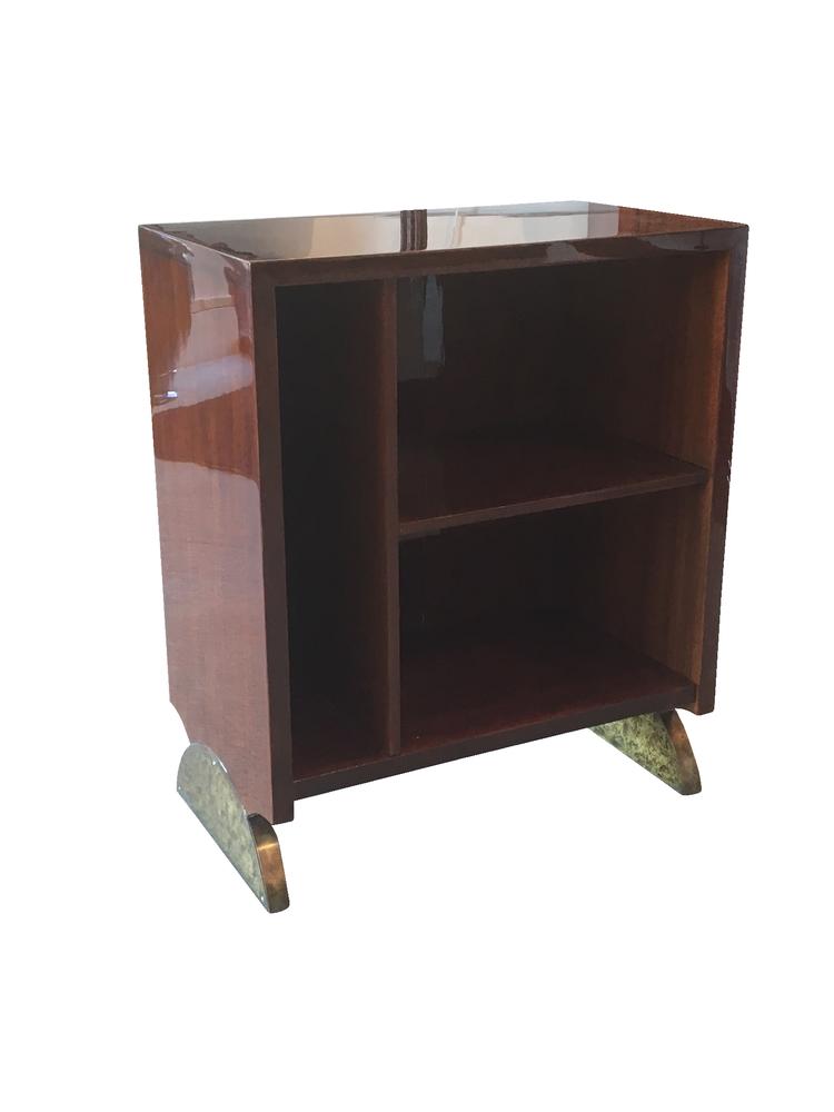 Eugene Printz bookshelf