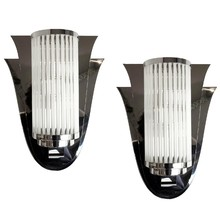 Pair of Sconces Modernistes