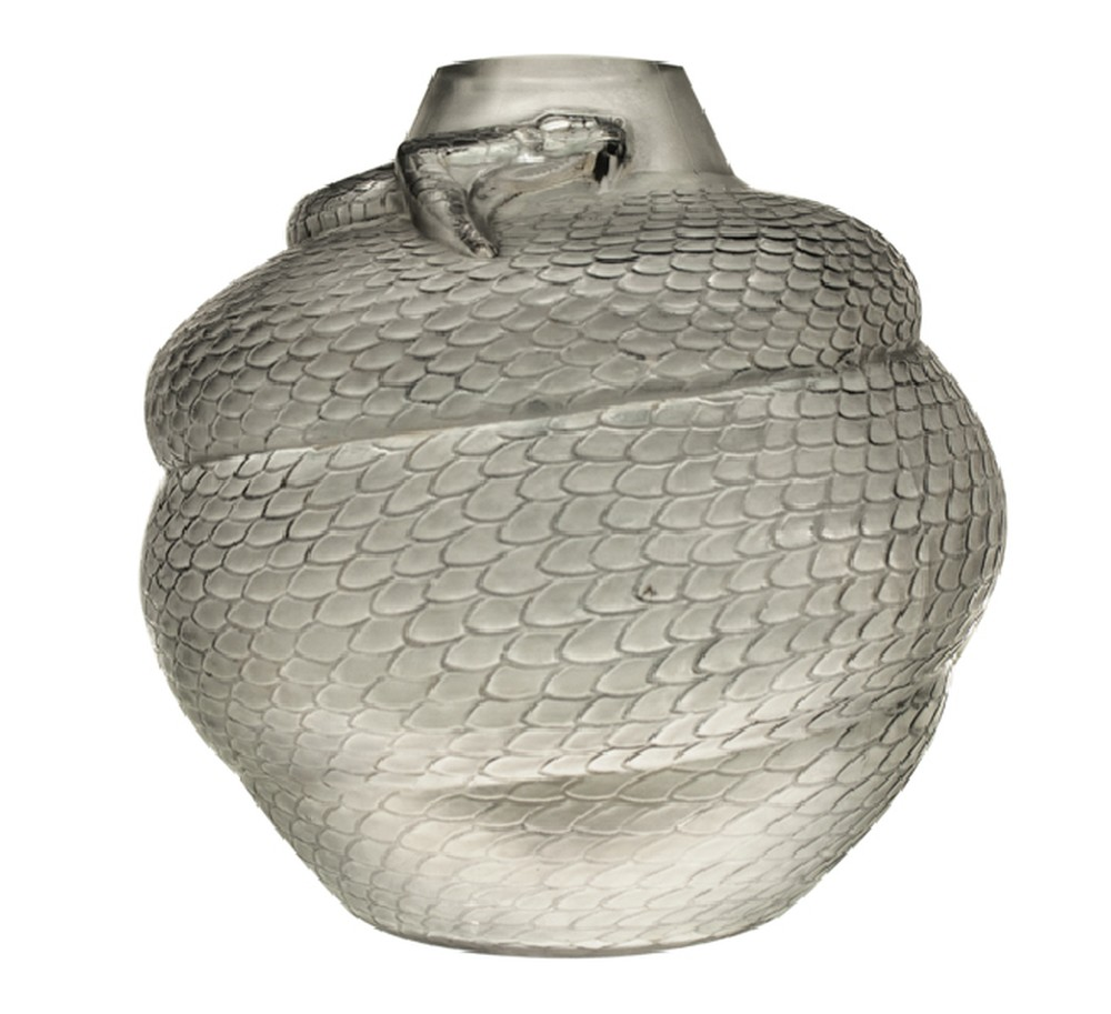 Rene Lalique Serpent vase